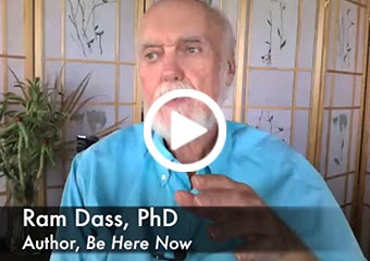 Ram Dass – Responding to Challenge with Grace