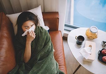 Mindfulness Meditation: An Unlikely Flu Treatment