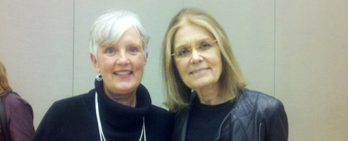 ruth buzcynski and gloria steinem
