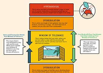 How to Help Your Clients Understand Their Window of Tolerance [Infographic]